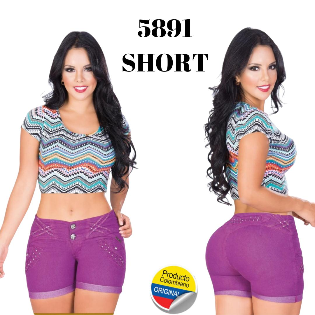 Short colombiano levanta cola