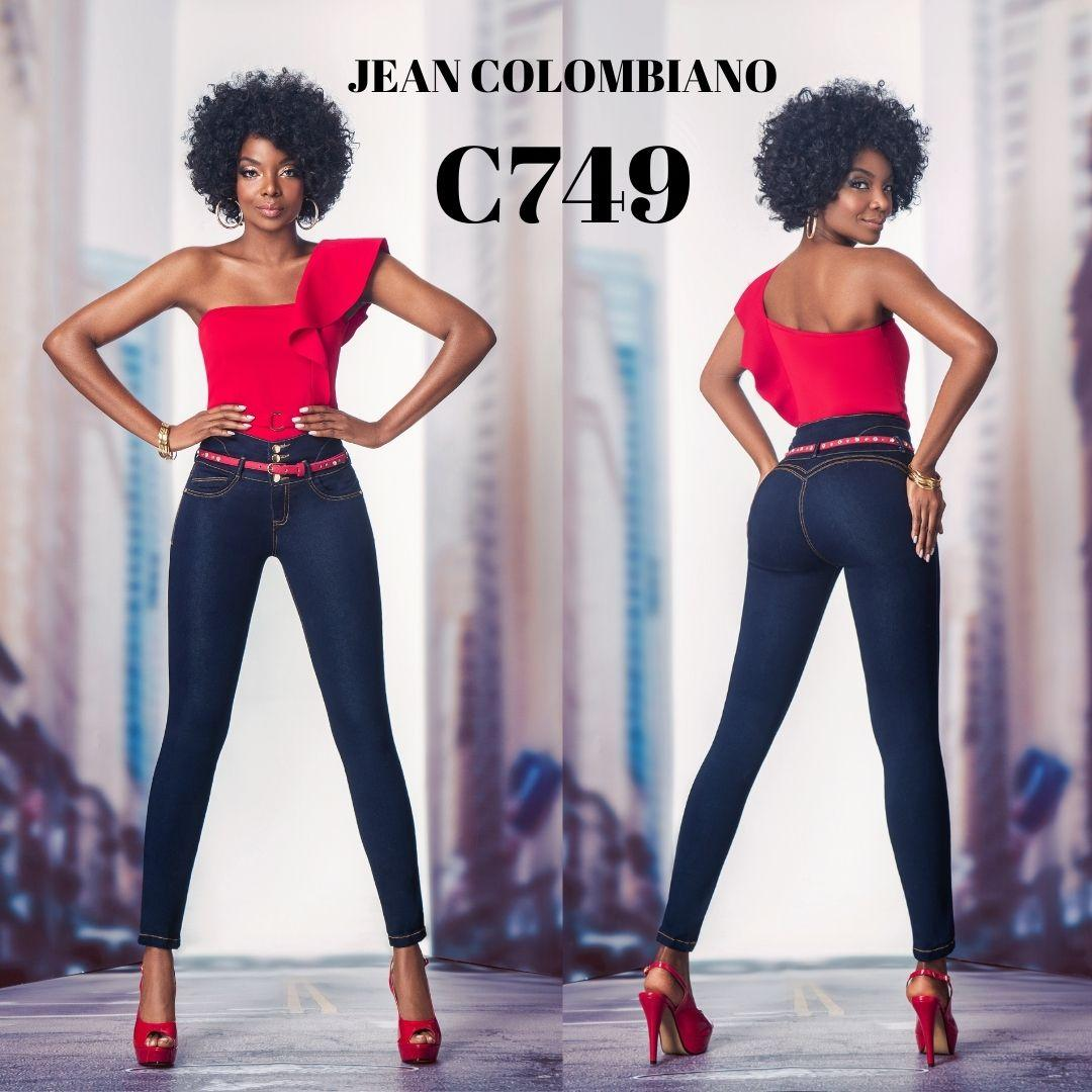 Jean colombiano ajuste perfecto