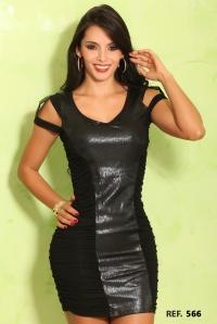 Vestido sexy dama colombiano