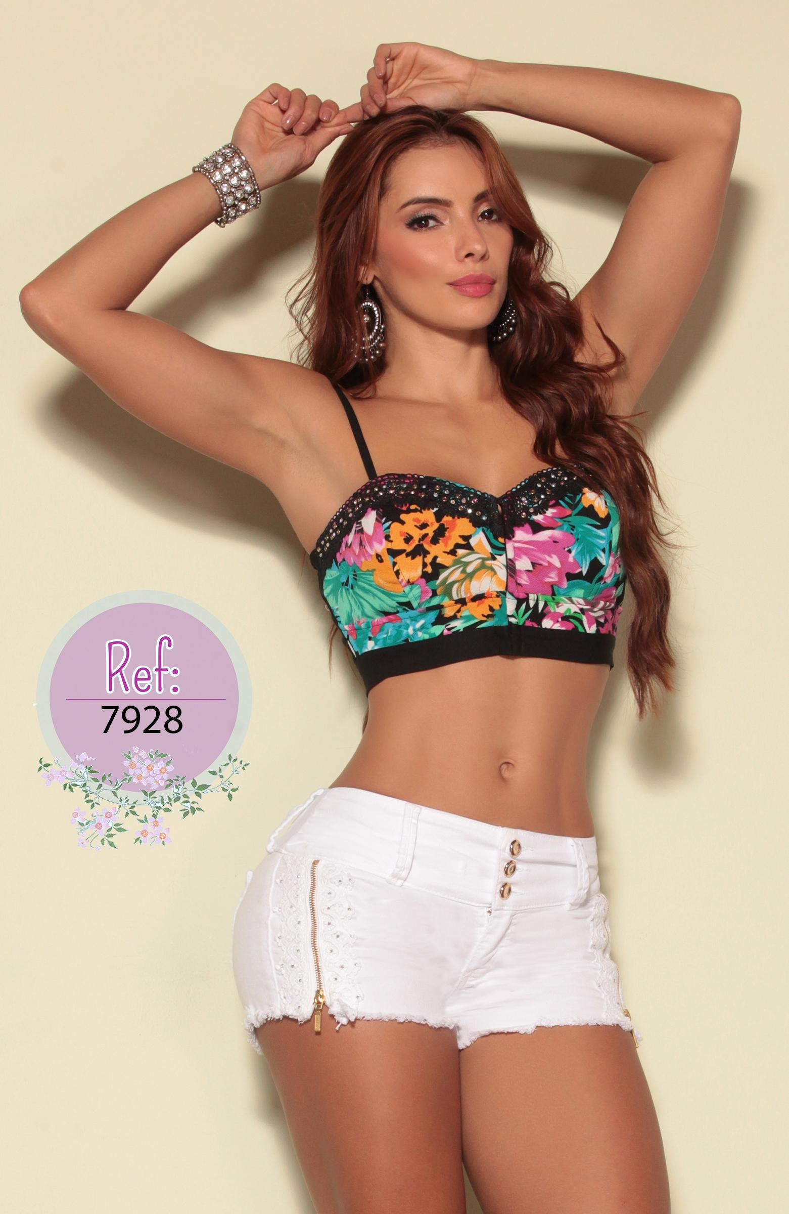 Crop Top de moda Colombiano