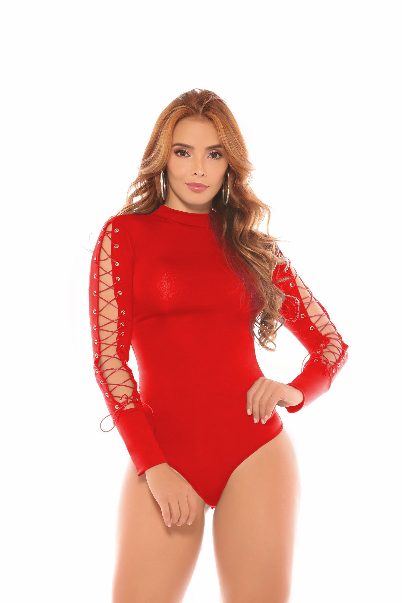 Body Colombiano De Moda, Mangas Con Estilo