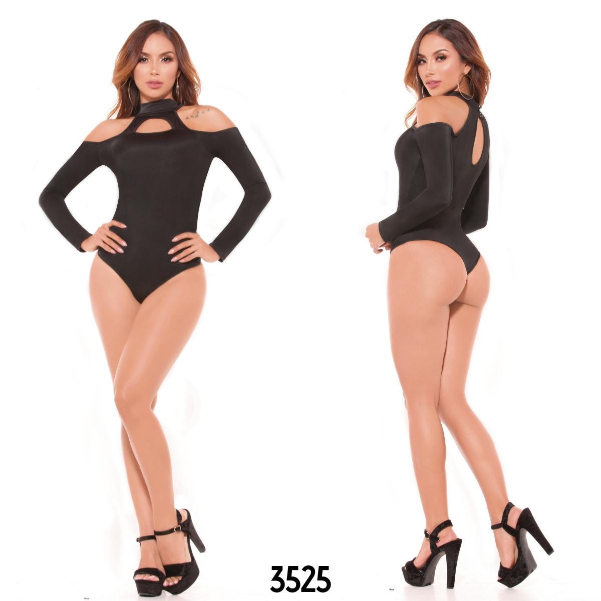 Body sexy con refuerzo interno