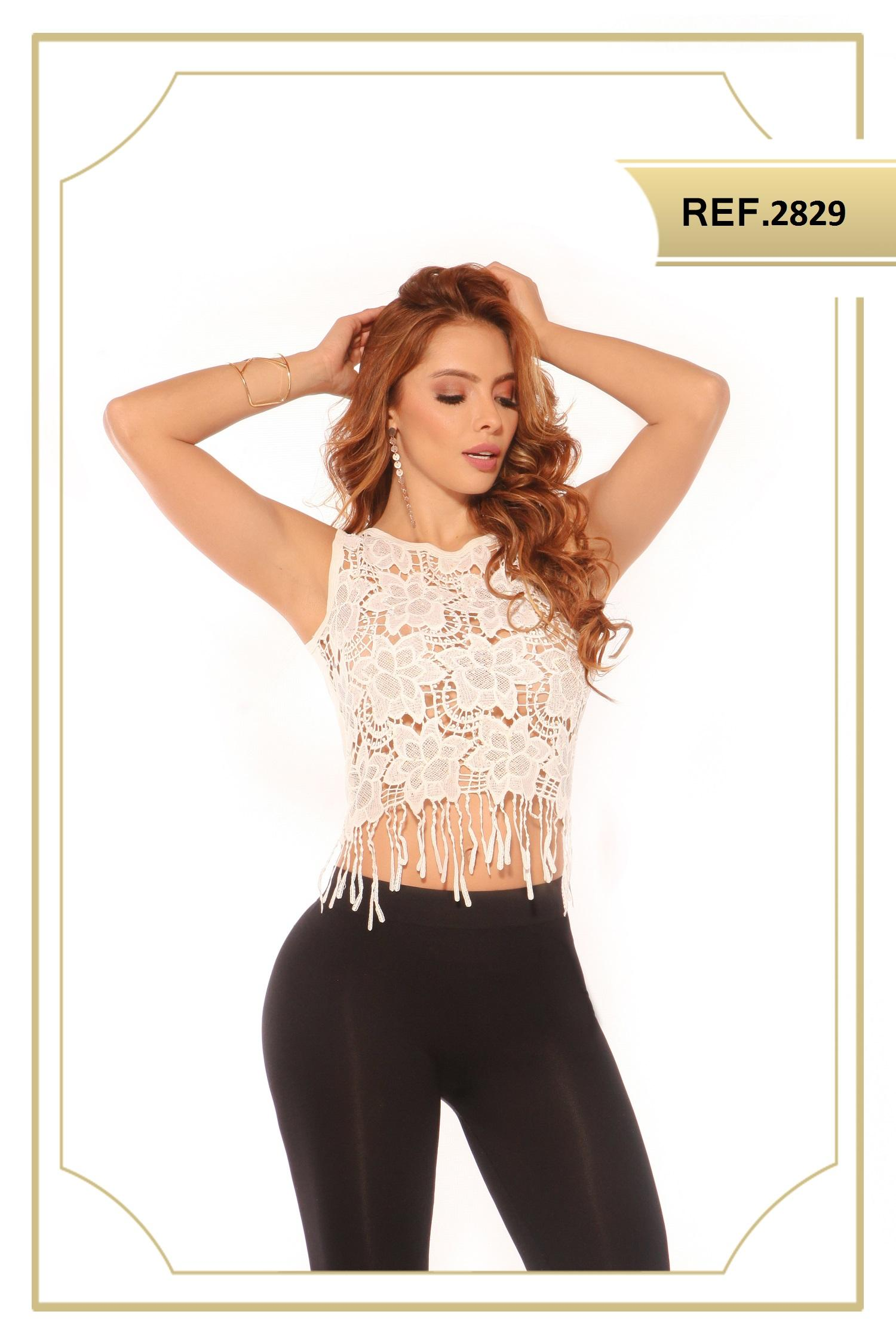 Blusa Bordada Colombiana