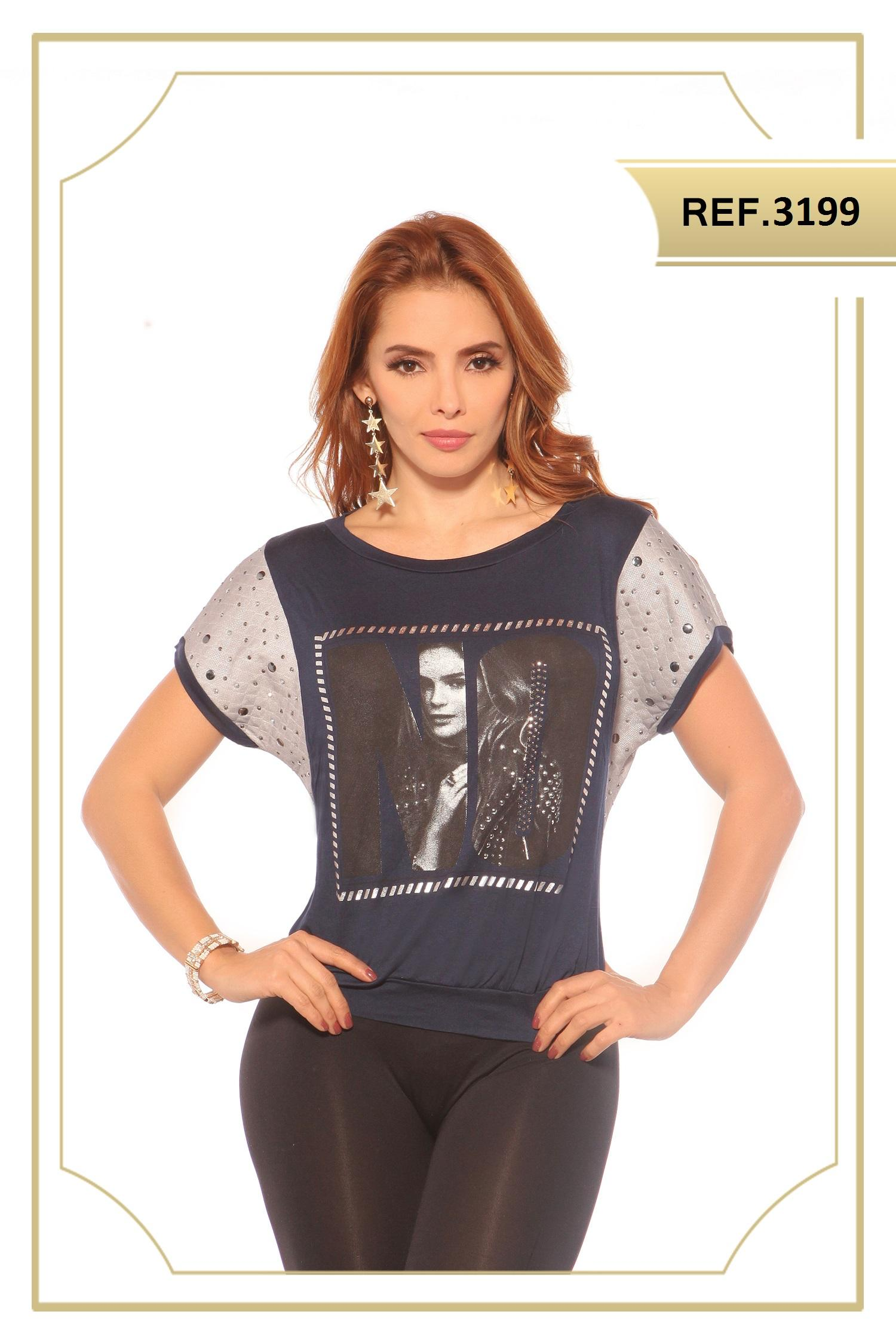 Blusa Colombiana Estampada