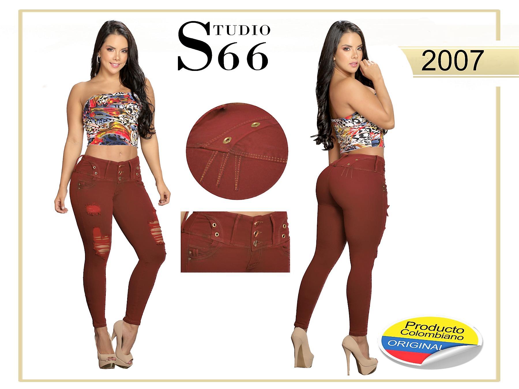 Vaquero Colombiano de Jean Levanta Cola