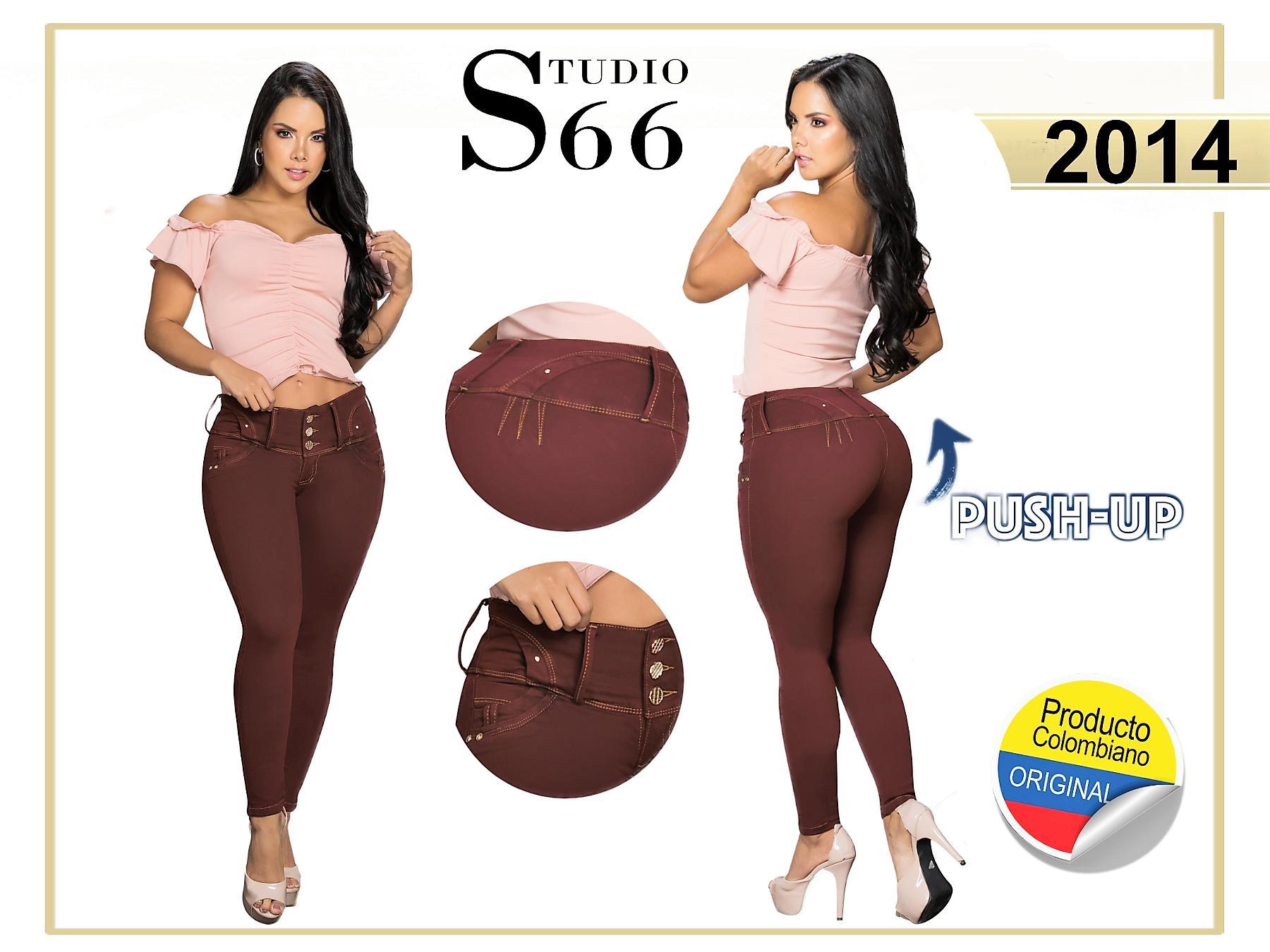 Jean Push Up de Moda Hecho en Colombia