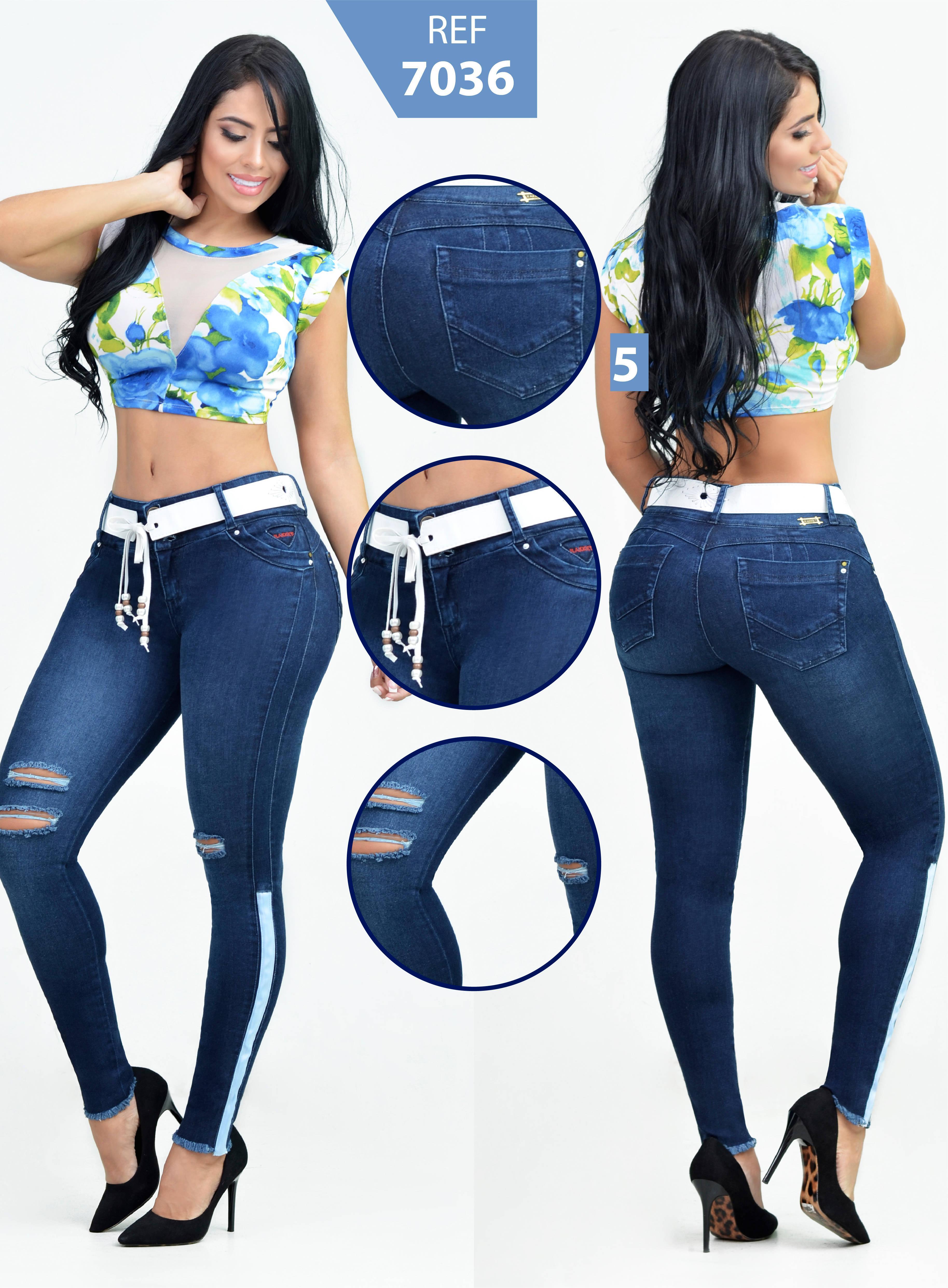 Jean Vaquero Rakket Levantacola Diseño y Moda Colombiana
